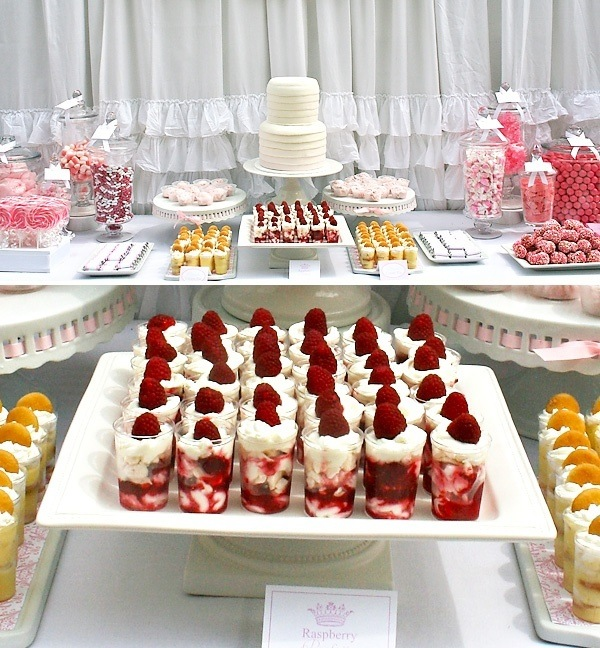 Bridal Shower Dessert Table Ideas Photograph