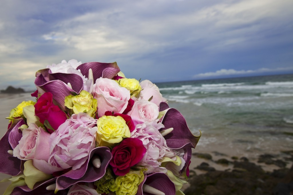 Bridal Flowers Gold Coast : Renewal of vows on the gold coast